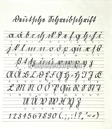 school suetterlinschrift
