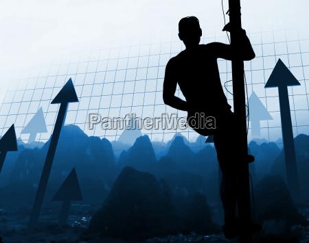 man, climb, the, way, of, success - 1345209