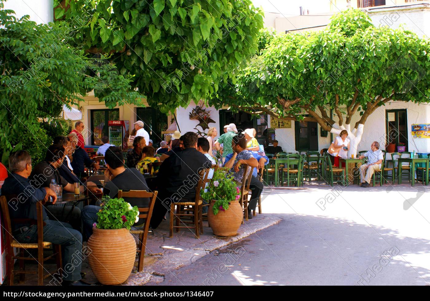 kafenion, in, crete - 1346407