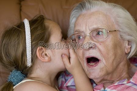 secret between grandmother and grandson