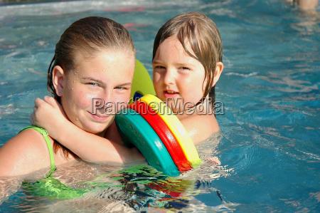 badespaß, couple - 1348439