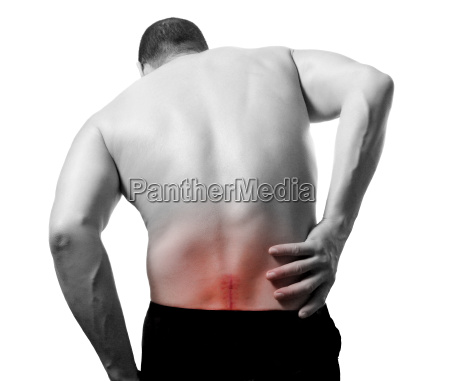 man, with, back, pain, and, serious - 1357819