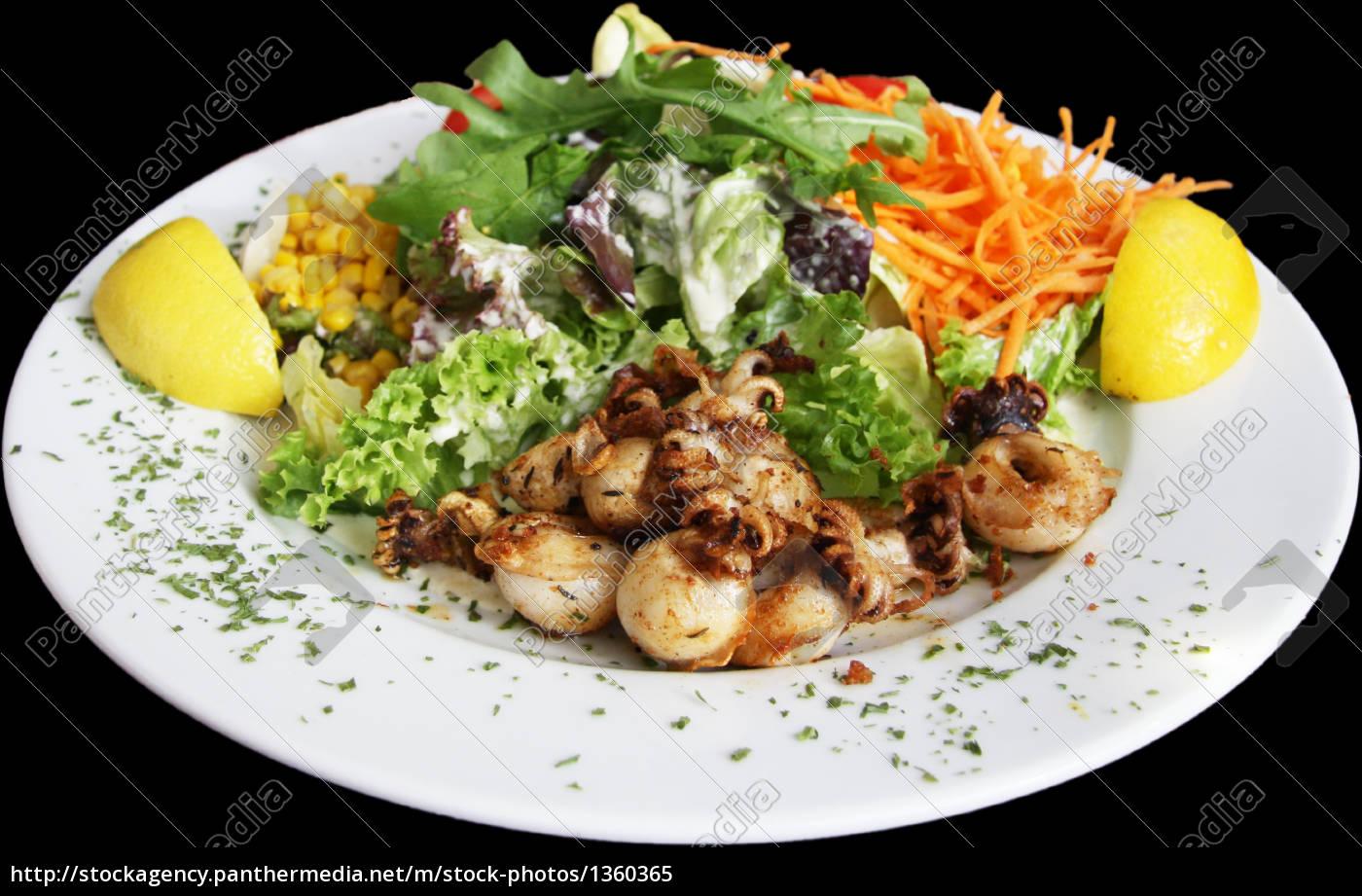 octopus, salad - 1360365
