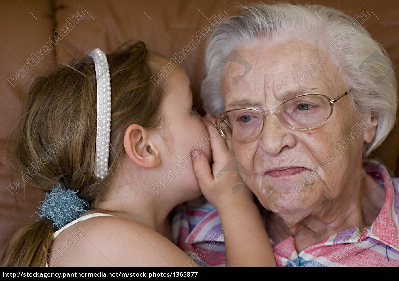 secret, between, grandmother, and, granddaughter - 1365877