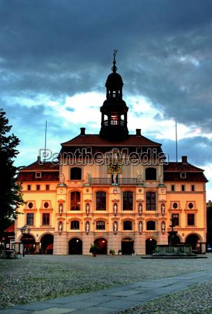 town, hall, lüneburg - 1367075