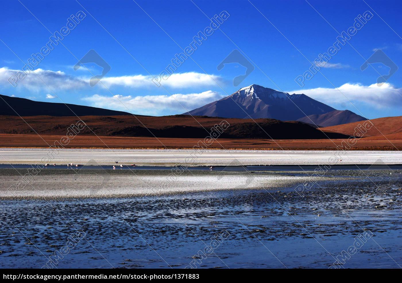 vulcan, landscape, in, bolivia - 1371883