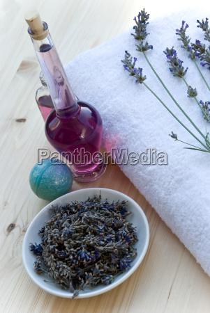 lavender, and, medicinal, herbs - 1372853