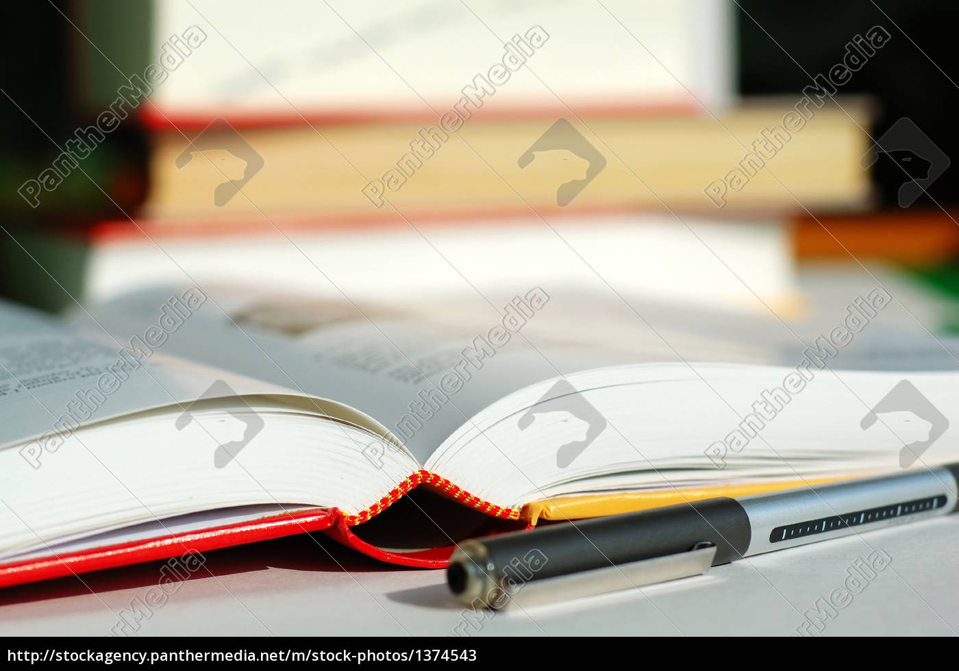 books, and, pen - 1374543