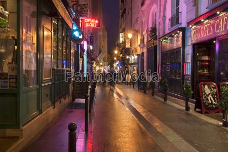 paris, rue, de, la, huchette - 1380469