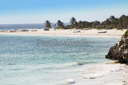 beach, of, tulum, in, yucatan - 1386017