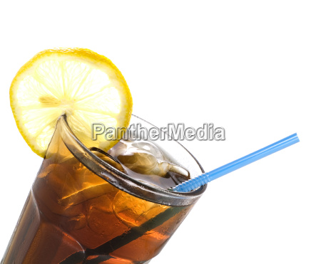 a glass of cola
