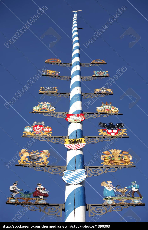 maypole, in, bad, aibling - 1390303