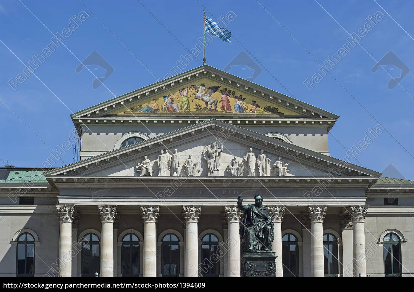 state, opera, munich - 1394609