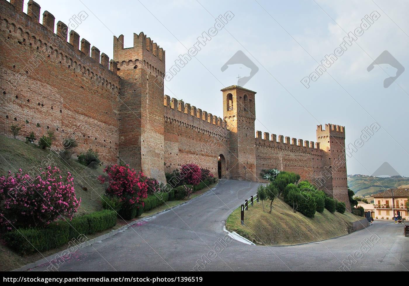castello, gradara, in, italy - 1396519
