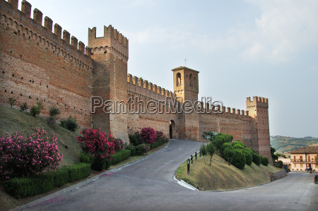 castello, gradara, in, italy - 1396519