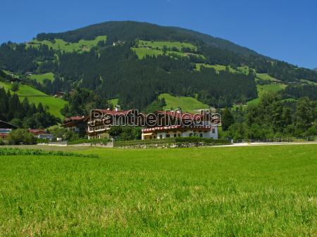 zillertal in austria