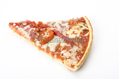 pizza, on, white, background - 1406351