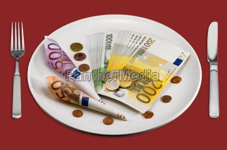 money can not eat
