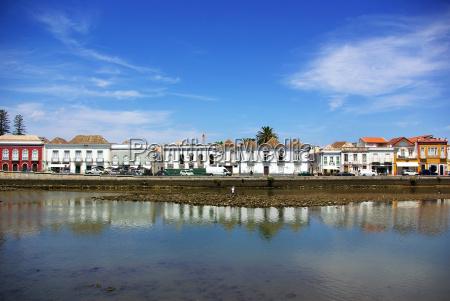 old, city, of, tavira, , algarve, , portugal. - 1419349