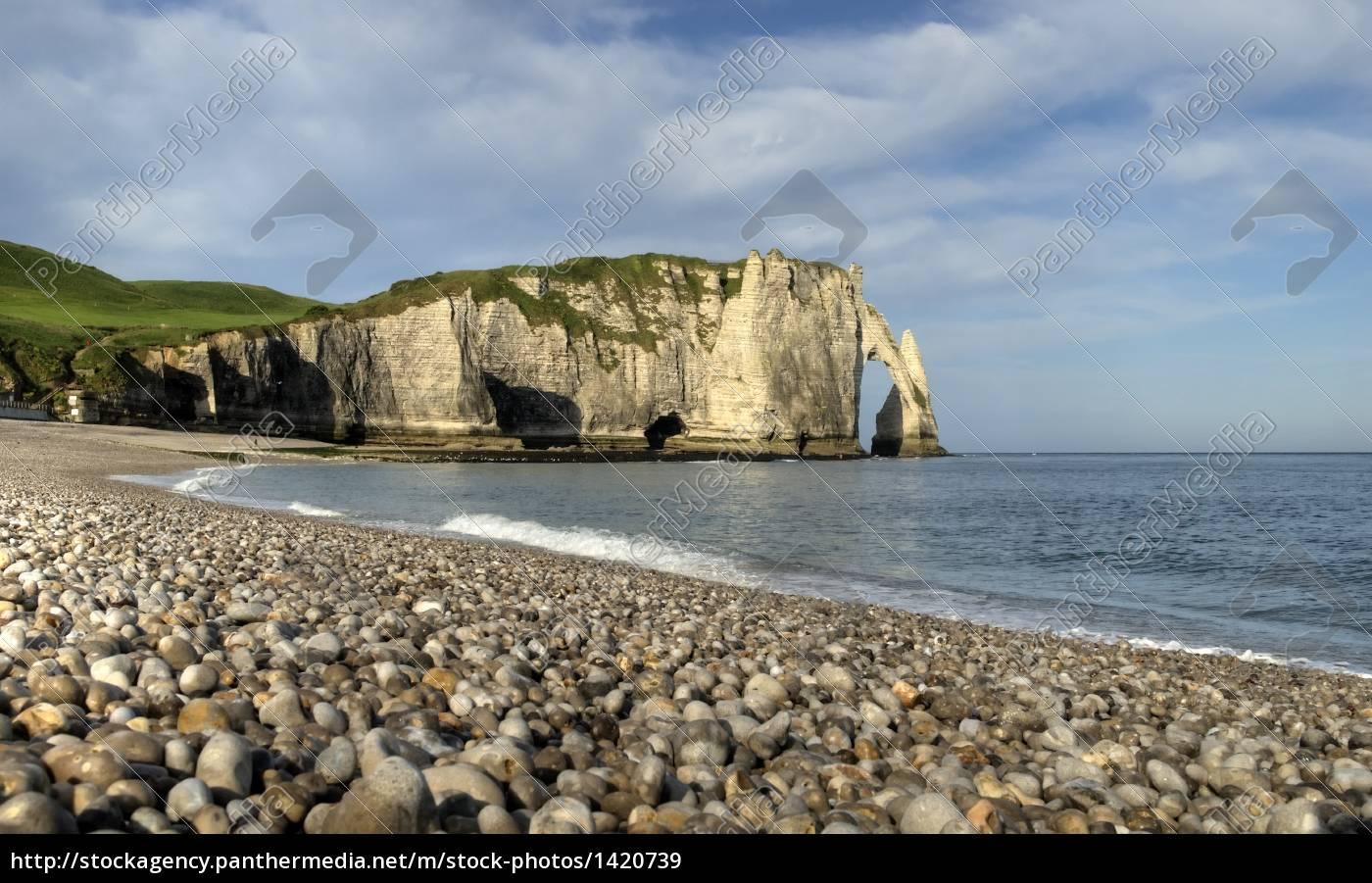on, the, beach, at, etretat - 1420739