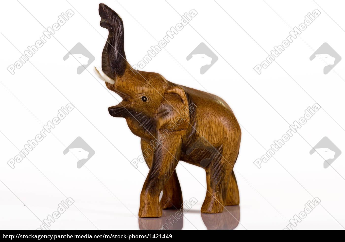 wooden, elephant - 1421449