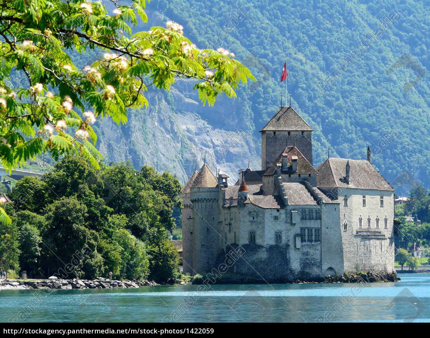 chillon, castle - 1422059