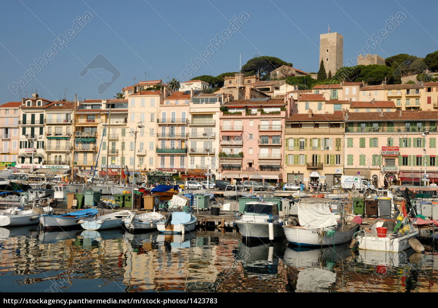 marina, in, cannes, france - 1423783