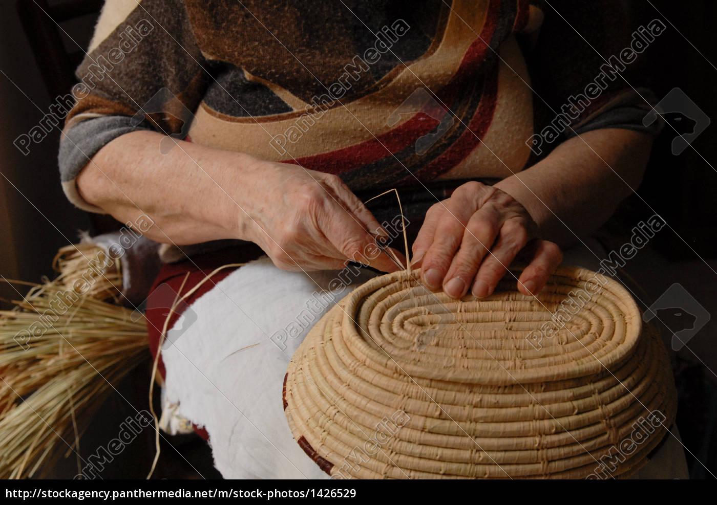 basket, weaver - 1426529