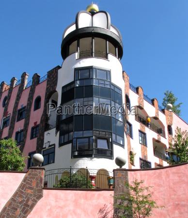 hundertwasserhaus, magdeburg - 1429617