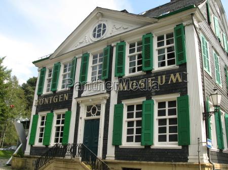 roentgen museum in remscheid lennep