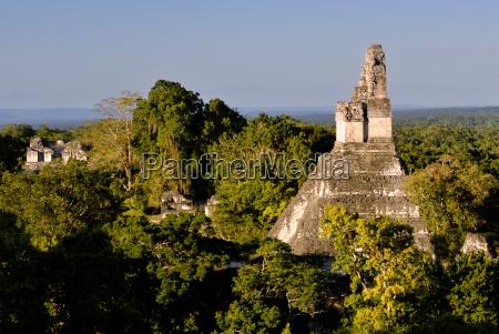 mayan ruins of tikal conditioning