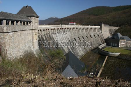 edersee dam in northern hesse