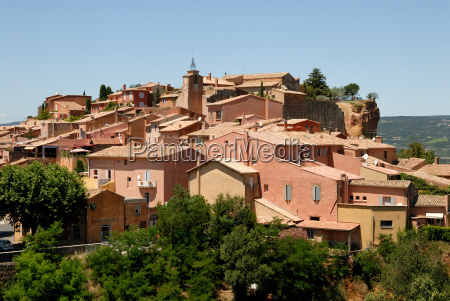 city, roussillon, in, southern, france - 1444995