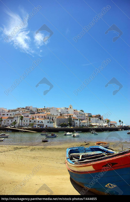 ferragudo, , village, of, algarve, , portugal. - 1444655
