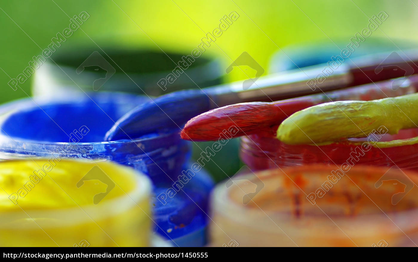 color, bottles, and, brushes. - 1450555