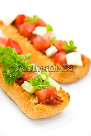 bruschetta, bread, rolls - 1454147
