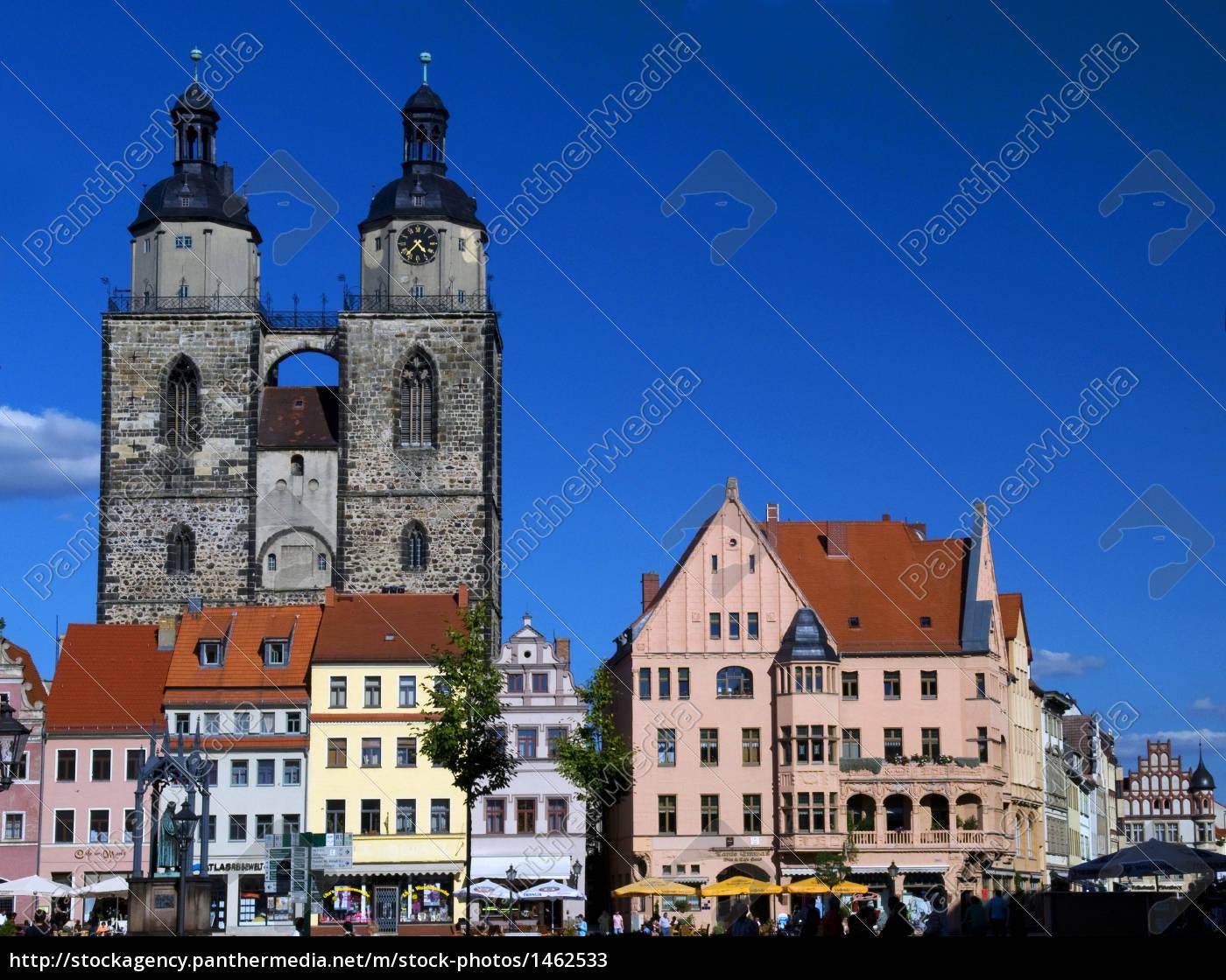 wb, market, and, city, church - 1462533