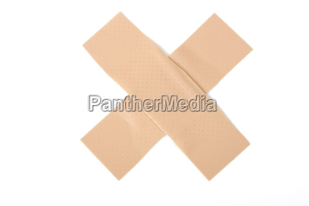 two pavement on white background