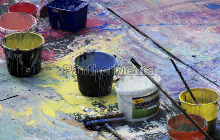 paint, bucket, and, color, blobs - 1469401