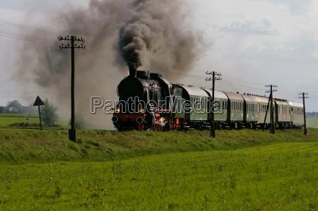 poland ok 22 steam locomotive wolsztyn