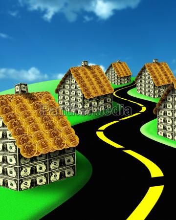 digitally, generated, image, of, suburban - 1481055