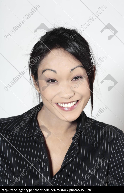 cute, asian, happy, woman - 1500783