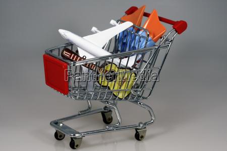 shopping cart holidays