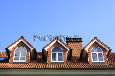three roof windows