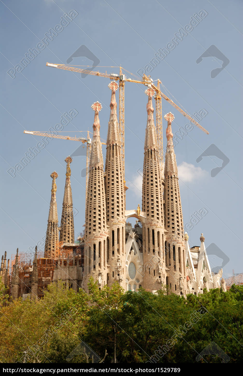 sagrada, familia, in, barcelona - 1529789