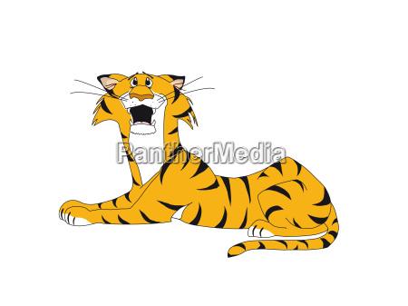 tiger anxious