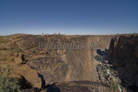 the canyon of the orangeriver