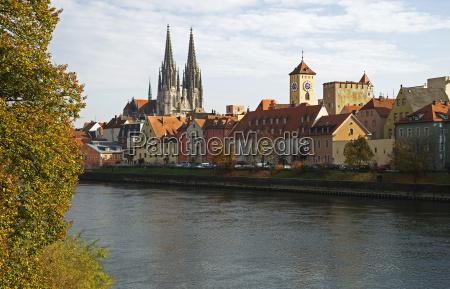 regensburg, on, the, danube - 1557125
