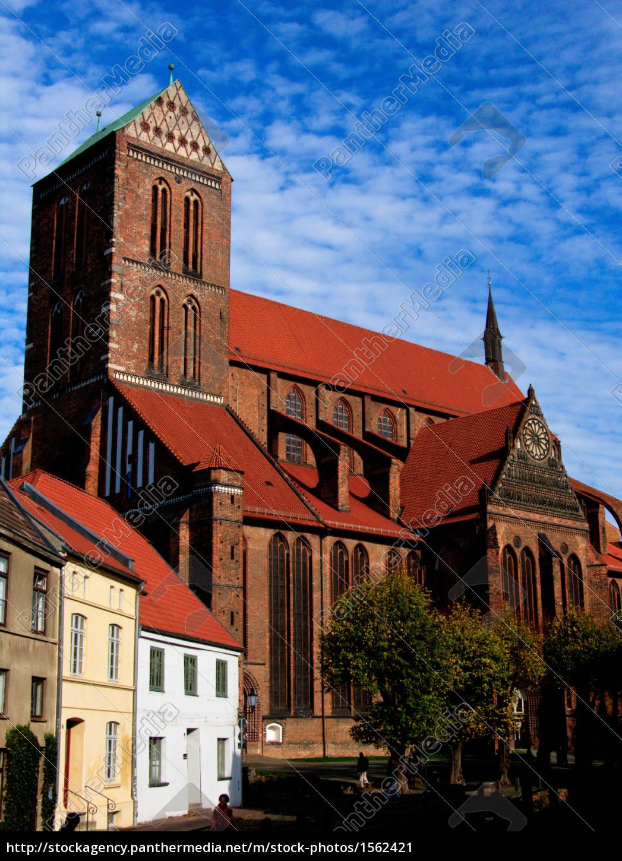 st., nikolaikirche, in, wismar - 1562421