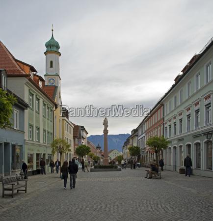historic murnau in bavaria